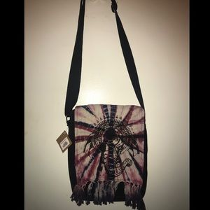 Handbags - Cross body Tie dye elephant handbag